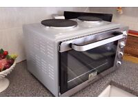 Morphy Richards convection fan mini oven + two electric hops