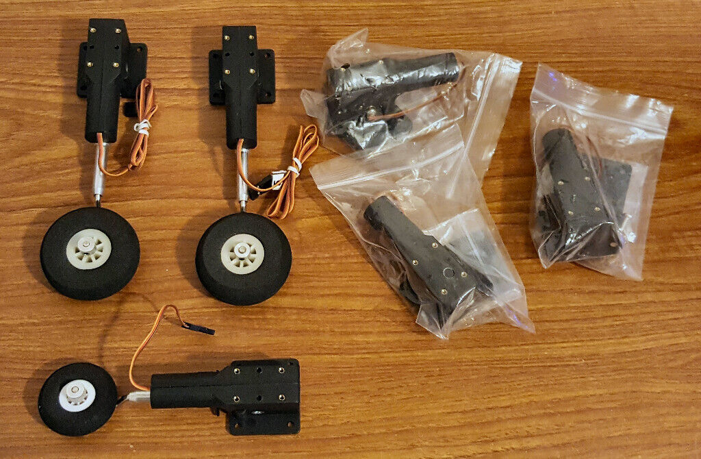 2x Sets of Electric Servoless Retracts for Model Airplanes - New   in  Rogerstone, Newport   Gumtree