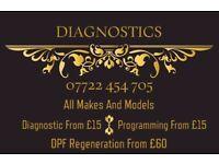 Full Car Dashboard & Ecu Readings & Air Bag Readings & Dpf Reading Diagnostic ETC