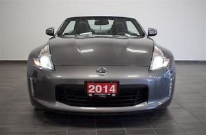 2014 Nissan 370Z ROADSTER Black Top at Low Mileage | Touring | * London Ontario image 2