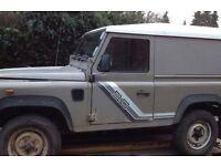 Land Rover defender turbo 2.5 .Swb