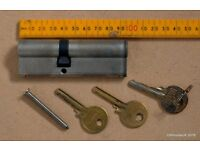 Door lock Euro Barrel Cylinder 35/10/40 - 40/55 95mm with 3 keys