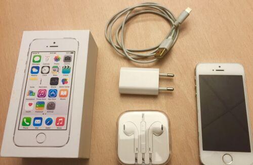 apple iphone 5s 16gb wei silber super zustand in bayern landshut apple iphone gebraucht. Black Bedroom Furniture Sets. Home Design Ideas