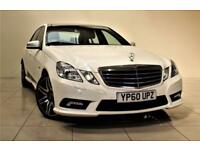 MERCEDES-BENZ E CLASS 3.0 E350 CDI BLUEEFFICIENCY SPORT 4d AUTO 265 BHP (white) 2010