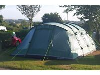 Outwell Glendale 7 tent (sleeps 7 people in 3 bedrooms) - Excellent condition