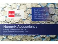 SELF ASSESSMENT FROM £55.00 - CERTIFIED LICENSED ACCOUNTANT