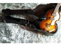 Hofner '61 Cavern bass w/ extras!