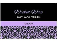 Wicked Wax. Homemade soy wax melts