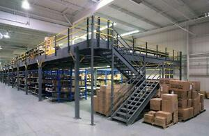 MEZZANINES & ELEVATED STORAGE PLATFORMS