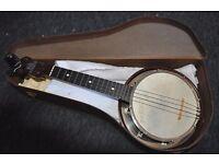 dallas b banjo ukulele