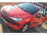 Peugeot 206 1.4 long mot cheap insurance