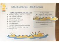 Childminder Free funding childcare available
