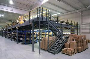 MEZZANINES AND ELEVATED STORAGE PLATFORMS