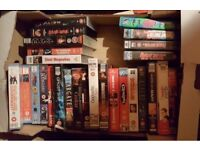 Selection of 28 VHS video tapes