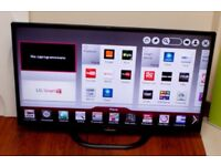 """42""""LG LED 3D SMART TV FREEVIEW FHD USB WIFI WITH REMOTE CAN DELIVER"""