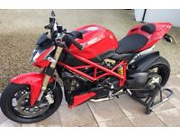 June 2013 Ducati 848 Streetfighter - Only 1980 miles