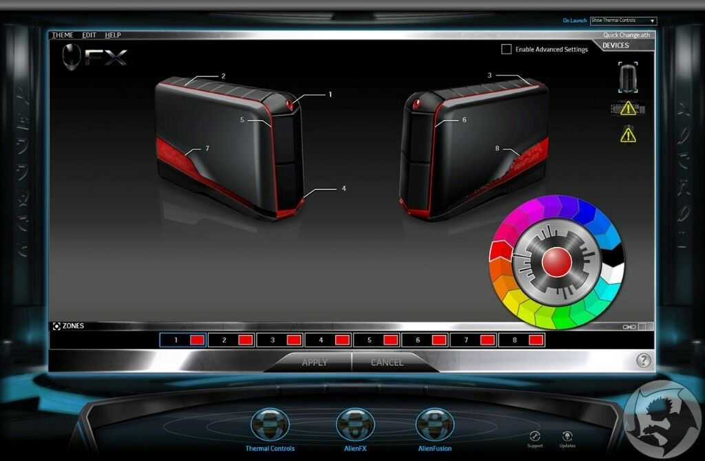 Gaming Alienware r4 i7 processor