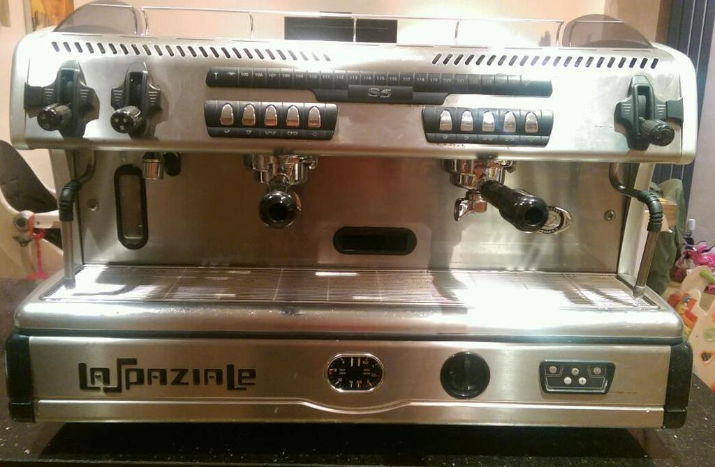 la spaziale s5 2 group commercial coffee machine in market harborough leicestershire gumtree. Black Bedroom Furniture Sets. Home Design Ideas