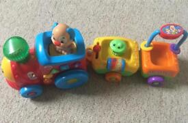 Fisher Price Smart Stages Train