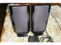 Creative Inspire speakers for PCs, Laptops, MP3 - good condition & fully working