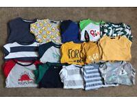 Boys Long sleeve T-shirt's 3/4yrs
