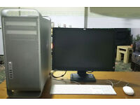 """Details about Mac Pro 1,1 Xeon Dual Core 2.66Ghz 8GB RAM 640GB HDD Nvidia 7300GT + 22"""" Monitor"""