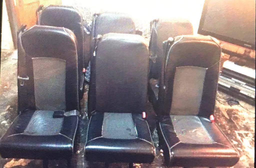 Toyota hiace seats c6