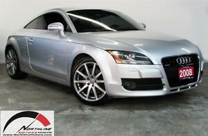 2008 Audi TT 3.2/ QUATTRO, LEATHER & SUEDE, LOW KILOMETER