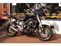 Triumph Street Triple 675cc Motorbike Yr 2010 New MOT and 3 Months Warranty