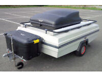 Versatile Boxed Camping/Sports/Trade/Utility Trailer: