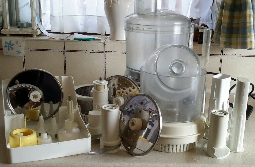 MAGIMIX 5100 Food Processor Cuisine System with Attachments   in ...