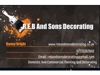 R.E.B And Sons Decorating