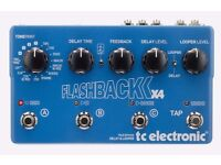TC Electronic Flashback x 4 Delay and Looper   Guitar Pedal