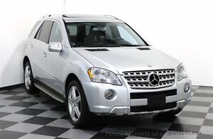 Mercedes Benz ML550 AMG - 382 hp, Nav, Backup Cam, Winter Tires
