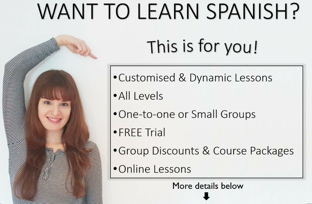 Private Spanish Lessons / Native Teacher / FREE trial & Discounts