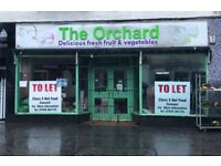 SHOP TO LET - WITH CLASS 3 HOT FOOD PLANNING!! Great Investment