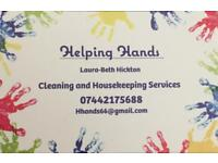 Cleaning and house keeping company taking on new clients