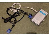 4 Port D-Link USB VGA KVM Switch Free