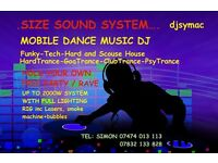 MOBILE DJ WITH A DIFFERENCE - HOLD YOUR OWN HOUSE PARTY / RAVE