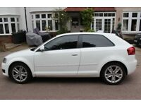 2009 Audi A3 White 1.6, NEW MOT, Low Mileage, Quick Sale