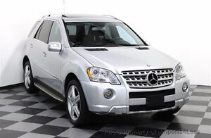 Mercedes Benz ML550 AMG - Nav, Backup Cam, Low Km, Winter Tires