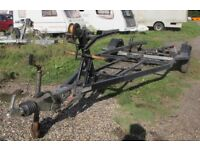 BOAT TRAILER HEAVY DUTY 1200KG FITS BOATS UP TO APPROX 21FT