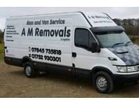 Best Rates & Service on 1 or 2 Man Jobs! A M Removals & logistics Man And Van Service Plymouth