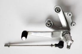 Suzuki GSX-R1000 LH OEM Foot peg Hanger and Gear Selector assembly