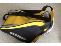 Bauer Ice Hockey Skates, UK Size 9, Excellent condition, with Yellow ski-team bag