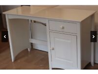 White shabby chic vanity or desk, only £25 for quick sale