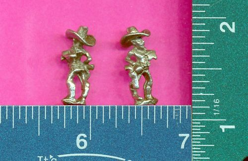 100 wholesale lead free pewter cowboy figurines m11091