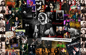 My Chemical Romance America famous punk band  Fabric Poster 20