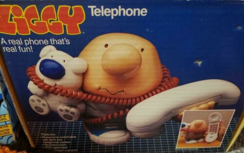 ZIGGY TELEPHONE 1990  ORIGINAL BOX