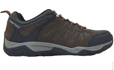 Ozark Trail Men's Chocolate Leather Hiker Casual Boots Sneakers/Shoes: 7-13